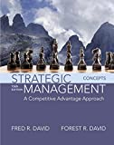 Strategic Management: A Competitive Advantage Approach, Concepts Plus MyLab Management with Pearson eText -- Access Card Package (16th Edition)
