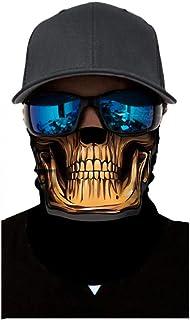 Alueeu 3PCS Neck Gaiter Headwear Bandana Outdoor for Women Men Scarf Cycling Motorcycle Neck Tube Ski Scarf