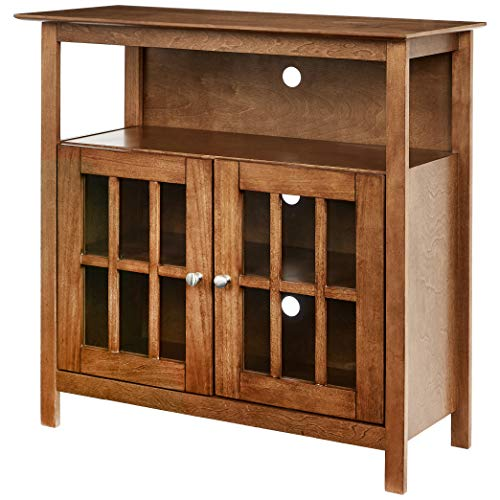 Rockpoint Argus Highboy TV Stand, Espresso