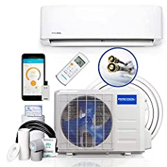 Energy Star Certified 22 SEER, 10 HSPF Easy DIY installation: pre-charged R-410A 25ft quick connect line doesn't require special tools, equipment, or training New SmartHVAC app: wifi control - compatible with Alexa and Google assistant - you can cont...