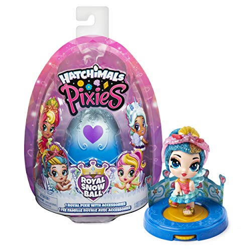 HATCHIMALS COLLEGTIBLES Pixies - Bola de nieve real