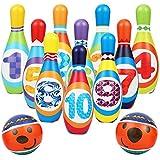 AMOMO Kids Bowling Set Toddlers Educational...