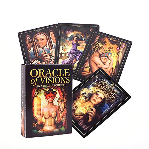 Tarot Card, Oracle-Karten, Tischspiele Für Teenager, Familien, Orakelkarten(Color:X.)