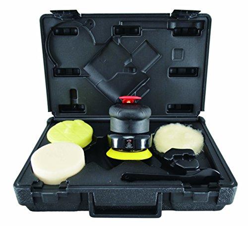 Astro Pneumatic Tool 331 ONYX 3' 2500 rpm Geared Palm Polisher Kit