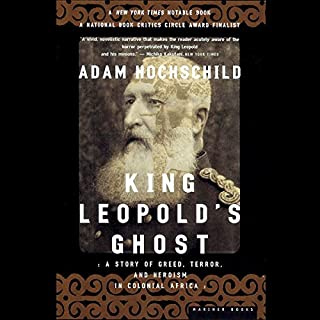 King Leopold's Ghost audiobook cover art