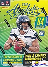 2018 absolute football cards