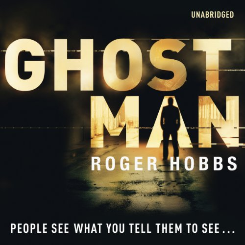 Ghostman audiobook cover art