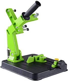 Angle Grinder Stand Grinder Holder Cutter Support Aluminum bracket iron base150mm-230mm angle grinder cutting (6 in-9in.)