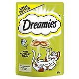 Dreamies Gâteries pour Chats Au Thon 60G (Lot de 2)