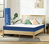 Comforto Siesta 6 Inch Soft Orthopaedic Memory Foam Mattress (72x70x6 Inch, King Size) - Mattress in a Box