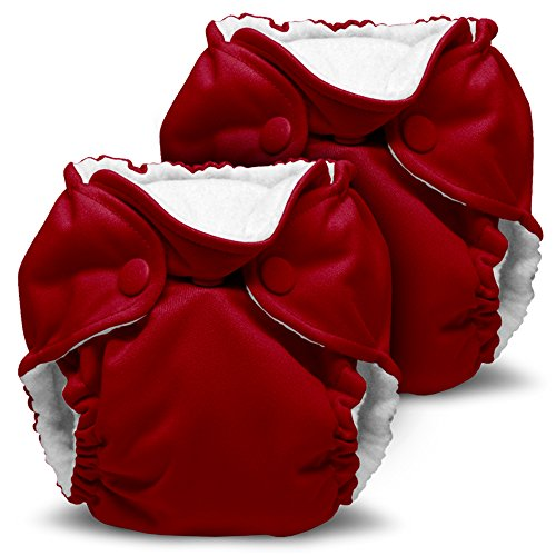 Kanga Care Lil Joey All in One Cloth Diaper, Scarlet