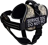 ActiveDogs Padded Air-Tech Service Dog Harness Vest - 13 Color Variety (2XL - Girth 32'-44', Digital Camo)