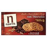 Nairn's Galletas De Chocolate Chip Oscuro De Avena (200g) (Paquete de 2)