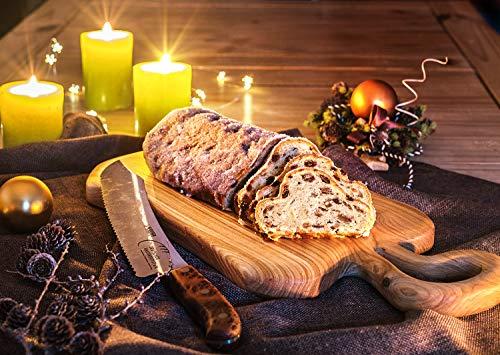 Original handgemachter Dinkelstollen - täglich frisch gebacken in einer Thüringer Bäckerei Feinstes Dinkelmehl weihnachtlichen Geschmack