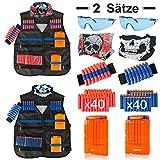 LVHERO 2 Sätze Kinder Taktisch Vest Battle Weste Kit für