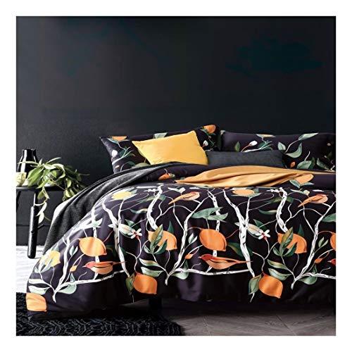 LNLW Bedding Pocket Hoeslaken 4 delige set - Hotel Luxury Soft Double geborsteld microfiber Bovenlaken - kreukvrij Ingericht laken, vlakke plaat en 2 kussenslopen (Size : Increase)