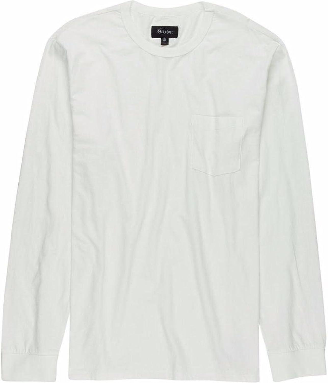 f551c73e7d Brixton Chaplin Chaplin Chaplin Long Sleeve Pocket Knit T-Shirt Off White  f0afb4