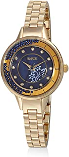 Zyros Watch for Women, Analog, Metal Band, Gold, ZY147L010152B