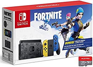 """Newest Nintendo Switch Wildcat Bundle(2000 V-Bucks and Code for Wildcat Bundle Included) 6.2"""" Touchscreen LCD Display, 80..."""