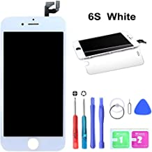 HTECHY Compatible with iPhone 6s Screen Replacement White(4.7
