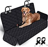 Dog Car Seat Covers Pet Seat Cover, Waterproof Nonslip Bench Rear Seat Cover