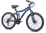 Full Suspension Mountain Bike 24' Bella Vista Girl Genesis Bike