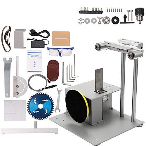 KKmoon 4-in-1 multifunctioneel zaagblad met slijpmachine, elektrische zaag, snijmachine, handwerk, werkbank 4
