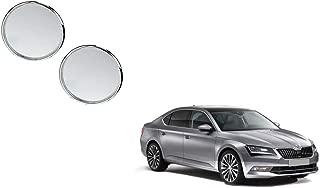 Autoladders Chrome Blind Spot Mirror Set of 2 for Skoda Superb