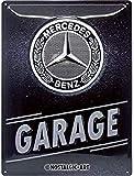 Nostalgic-Art Retro Blechschild Mercedes-Benz – Garage