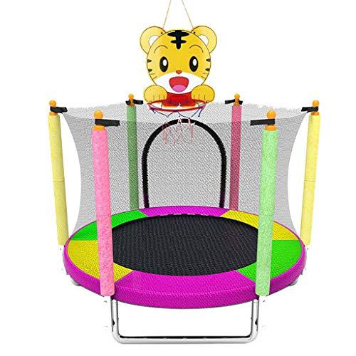 XinYing-BBC Baby-Trampolin Mit Netzfedern Fitness- Und Basketballkorb Indoor Oder Outdoor FüR Baby-Kleinkindspielzeug