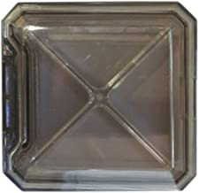 Cxjff Multifunctional Pill Box Mini Travel Pill Container Pill Dispenser Box Dustproof (Grey) (Color : Grey)