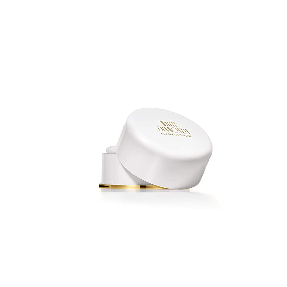 White Diamonds by Elizabeth Taylor for Women, Body Powder, 2.6-Ounce