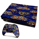 IT'S A SKIN Xbox One X Console & Controller Decal Vinyl Wrap | tattoo tigers heads roses pattern Japanese