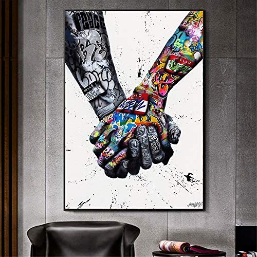 Abstract lovers paintings _image1