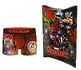 Marvel Avengers - Calzoncillos con bolsa de regalo, colección oficial Freegun multicolor 10-12 años