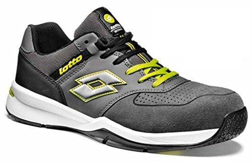 scarpe lotto uomo japan Lotto Scarpe Antinfortunistiche Works Street 500 S1P Grigio Gialla (39)