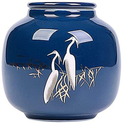 Caddy di tè in ceramica vintage Servizi di stoccaggio da cucina I contenitori di stoccaggio alimentare a tenuta stagna aderente contenitori per stoccaggio di cibo a secco per l'organizzazione della di