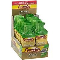 Powerbar Original Power, Gel de energía  con sabor de Manzana verde  y cafeína 41 g, paquete de 24