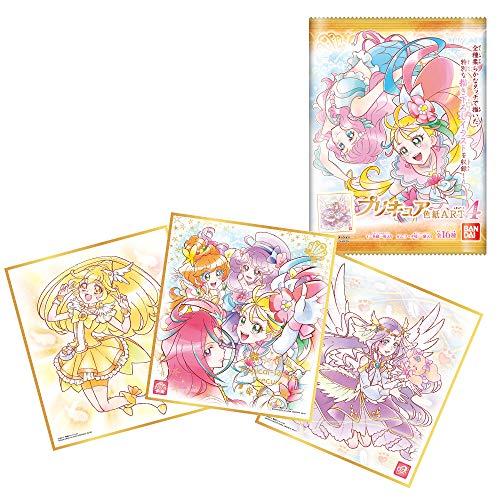 プリキュア 色紙ART4 (10個入) 食玩・ガム (プリキュアシリーズ)
