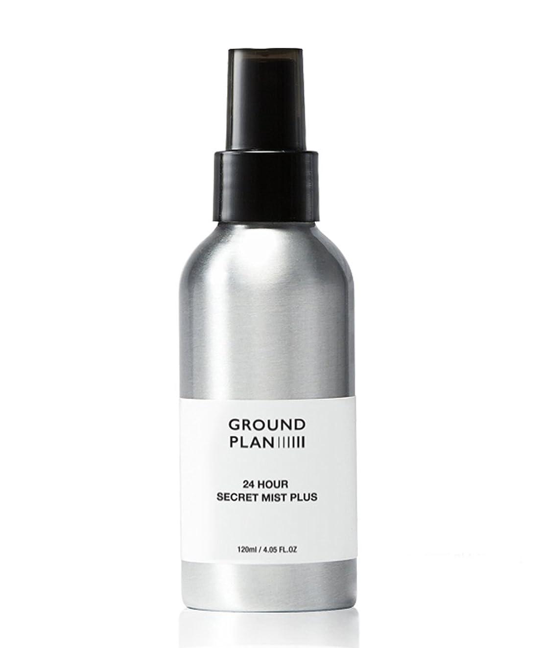 無効教交通渋滞[グラウンド?プラン] 24Hour 秘密 スキンミスト Plus Ground plan 24 Hour Secret Skin Mist Plus [海外直送品] (120ml)