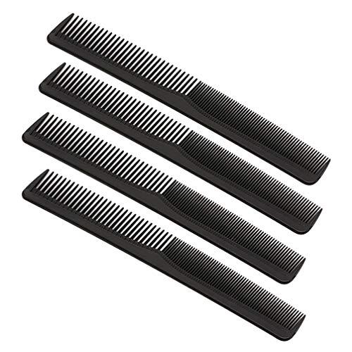 Pixnor 25 Pcs en Plastique Double Tête Étroite Dents Fines Peignes à Cheveux Peignes de Coupe Peignes de Coiffure pour Salon de Coiffure Maison