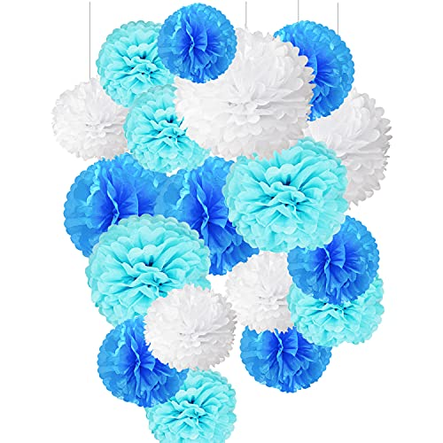 Pompones De Papel, Pompom Flores, Decoracion Flores Pom Pom, Pompones Decorativos de...
