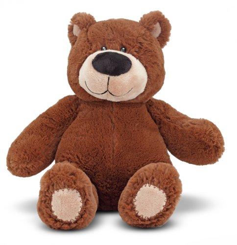 Melissa & Doug BonBon Bear - Teddy Bear Stuffed Animal (15 inches tall)