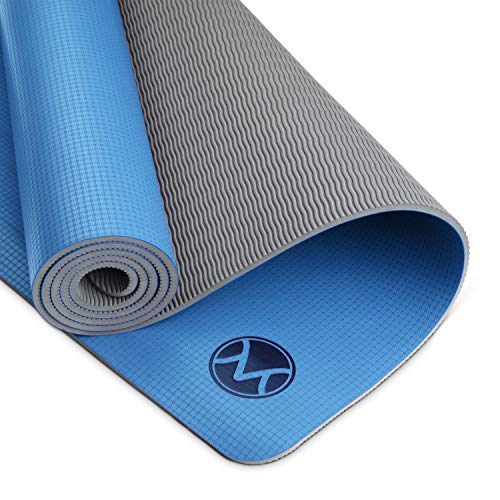 Youphoria Yoga Mat, 24 in x 72 in x 6mm, Lightweight and...