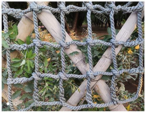 Nylonseilnetz,Baumhausschutznetz Outdoor-Spielplatz Hochleistungssicherheitsklettern für Kinder Kind Erwachsene Fitness Schaukel Leiter Kletternetz Auto Deck Ladung Festnetz Rennbahnzaun Gartennetze