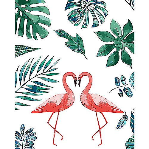 SWNN wall mural Flamingo - pintura digital pintura al óleo pintada a mano pura pintura al óleo pintada a mano núcleo pintura al óleo paisaje pintura sin marco pintura decorativa 40 * 50/50 * 65/60 * 7
