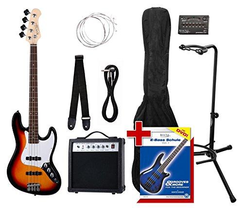 Rocktile Groover's Pack JB E-Bass Sunburst Set II