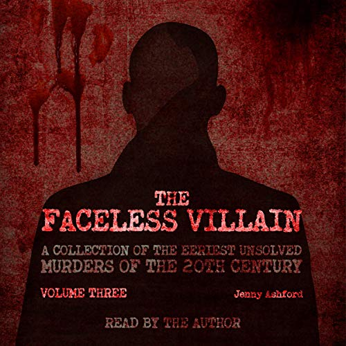 The Faceless Villain audiobook cover art