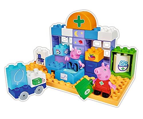 Big-Bloxx Peppa Pig - Maletín de médico (32 Piezas, para niños a Partir de 18 Meses)