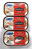 Connetable Beech Wood Smoked Cod Liver Canned From Iceland 4.3oz pack of 3